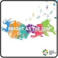bright as the sun (official song asian games 2018)