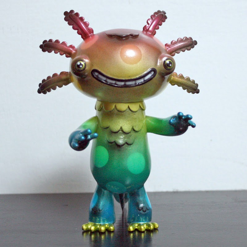 """Rainbow Dots"" Whooper Looper Vinyl Figures by Rampage Toys x Gary Ham"