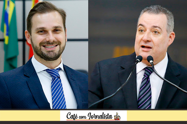 Vereadores Rafael Roza e Sidnei Telles – Fotos: Marquinhos Oliveira/CMM