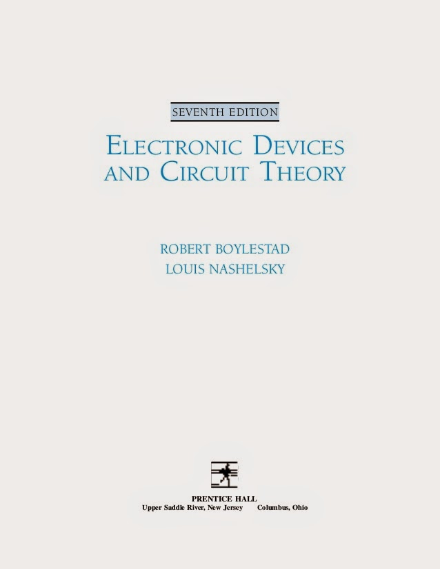 Electronic Devices and Circuit Theory 7th Edition