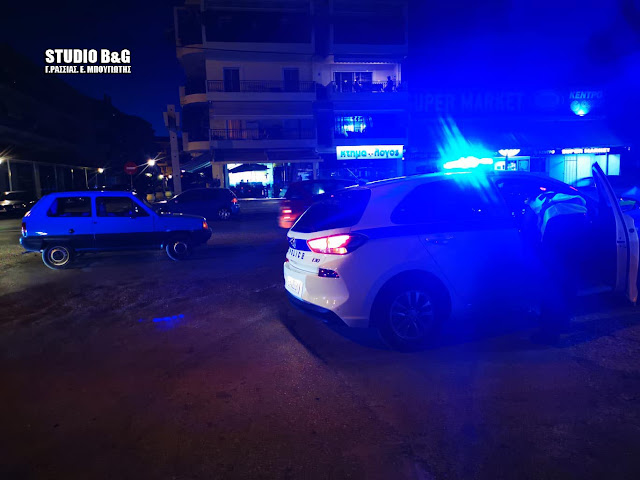 Πολύ περίεργο ατύχημα στο Ναύπλιο με ξαπλωμένο αλλοδαπό στη μέση του δρόμου