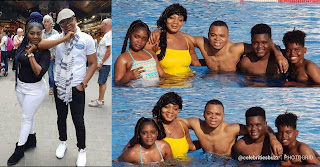 image result for angel daniel obinim wife and children