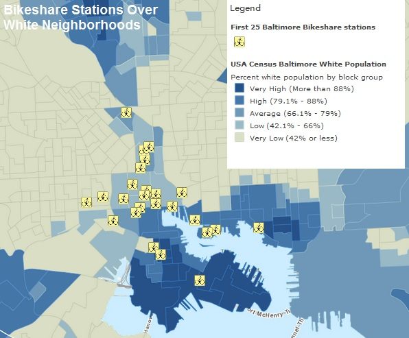 Miscellaneous Posts Baltimore City Biased And Racist Bike - Baltimore usa map