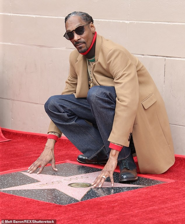 Photos: Snoop Dogg gets a star on Hollywood Walk of Fame