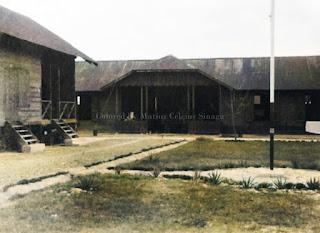 gedung kamp militer di balige