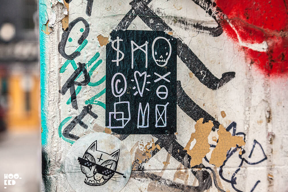 England-London-Shoreditch-Street-Art-Stickers-by-SkeltonCardboard