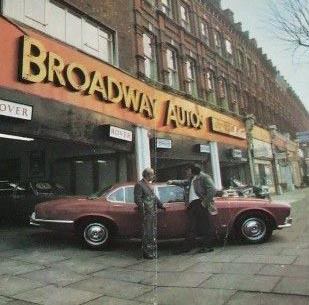 Broadway Autos Showroom