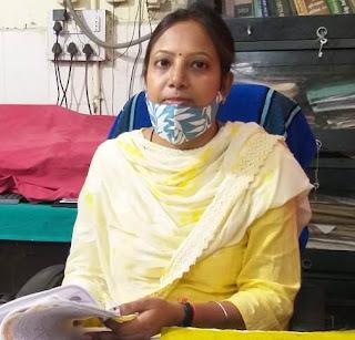 नवनिता सिंह बनी सब रजिस्ट्रार    #NayaSaberaNetwork