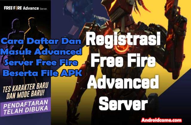 Cara Daftar Dan Masuk Advanced Server Free Fire Beserta File APK