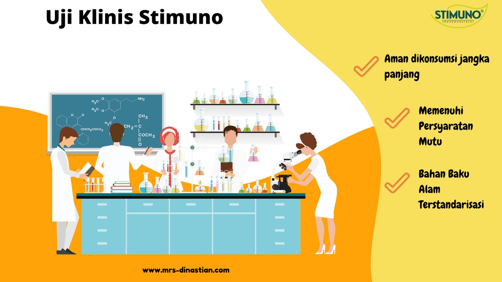 Uji Klinis Stimuno Aman digunakan jangka panjang