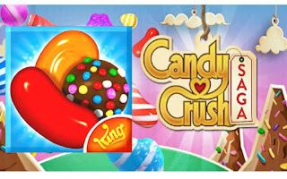 تحميل لعبة كاندي كراش ساجا Candy Crush Saga مهكرة آخر إصدار للأندرويد
