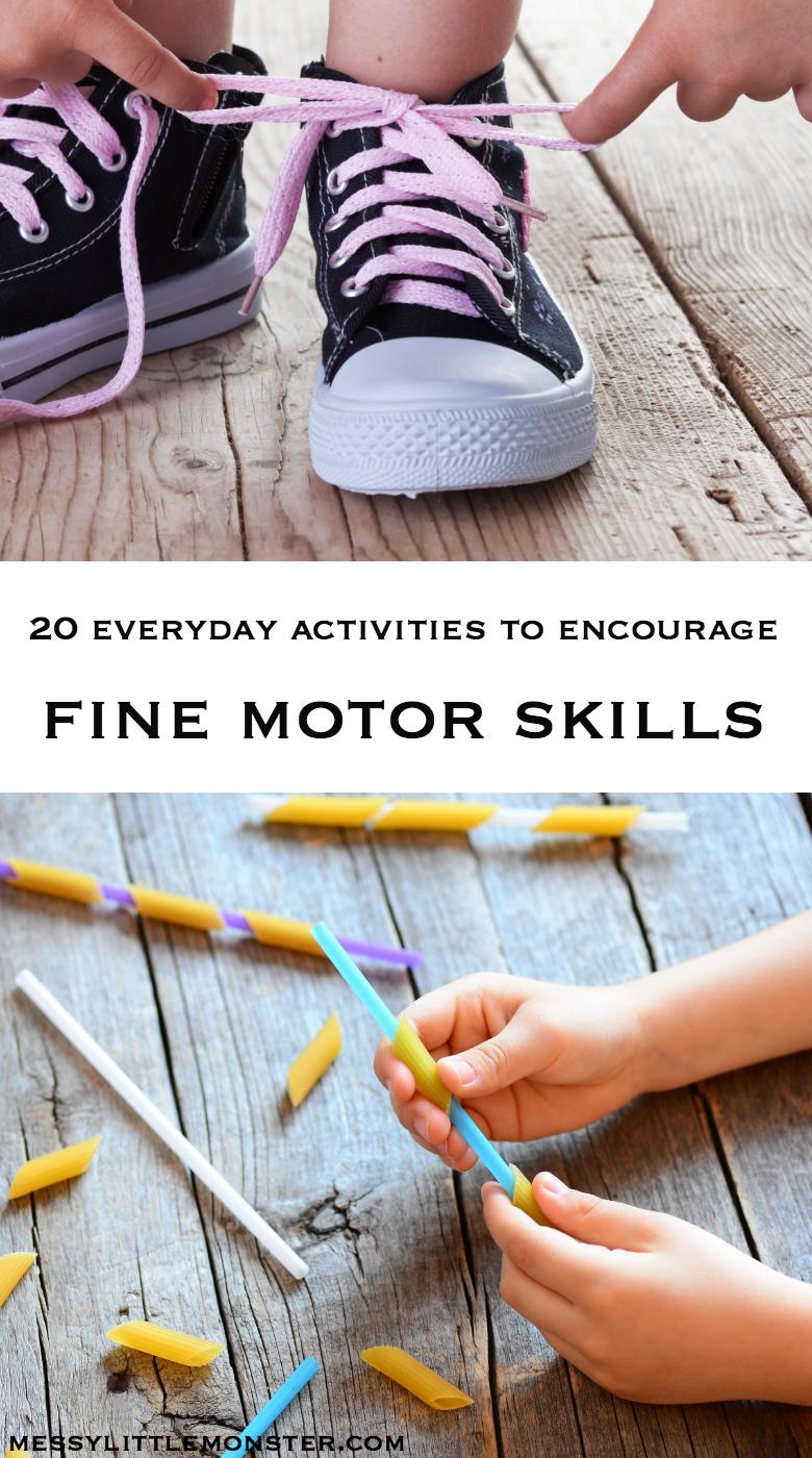 activities to encourage fine motor skills