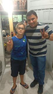 Com alegria recebemos apoio de várias famílias no município, comemora Tiago pereira em Cacimba de Dentro