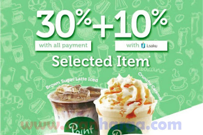 Promo Point Cafe Indomaret Periode 16 - 31 Juli 2019