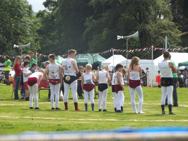 Ambleside Sports traditional Cumberland and Westmorland wrestling costumes