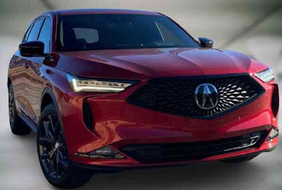 New 2022 Acura MDX - a luxury SUV - catches the eye
