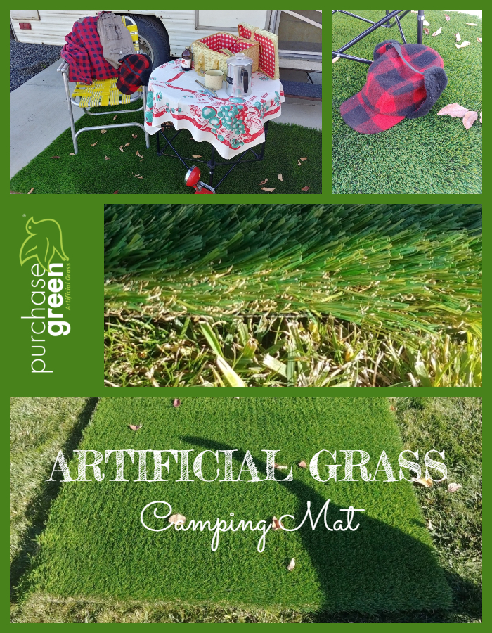 Artificial Grass Camping Mat