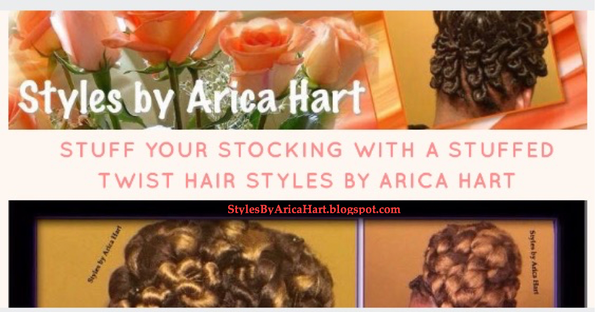 Stuff your stocking with a stuffed twist hair Styles by