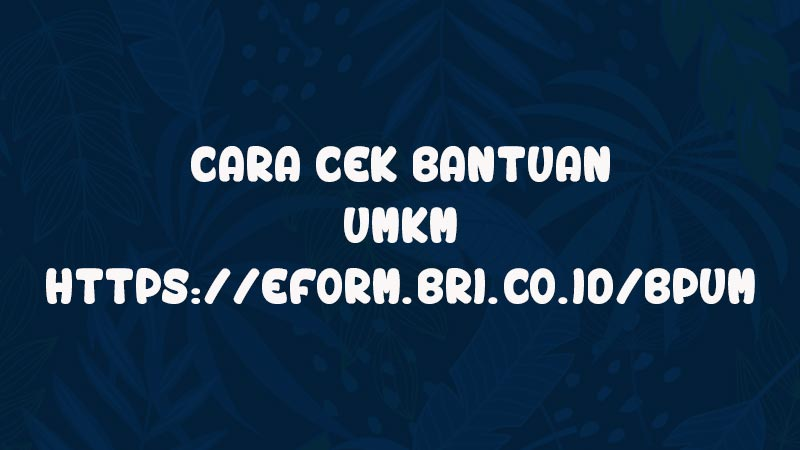 cek-bantuan-umkm-online-link-efrom-bri-co-id-bpum