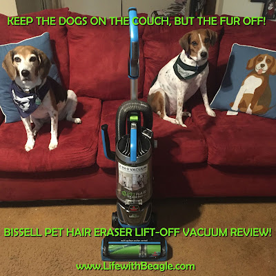 Review of the Bissell Pet Hair Eraser Lift-off Vacuum.