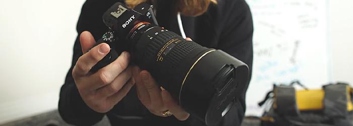 Rory Kramer uses Sony a7s camera