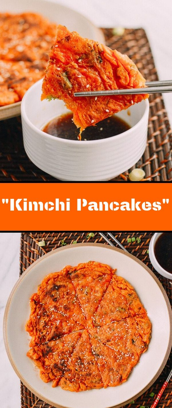 Kimchi Pancakes #Kimchi #Pancakes Healthy Recipes Easy, Healthy Recipes Dinner, Healthy Recipes Best, Healthy Recipes On A Budget,