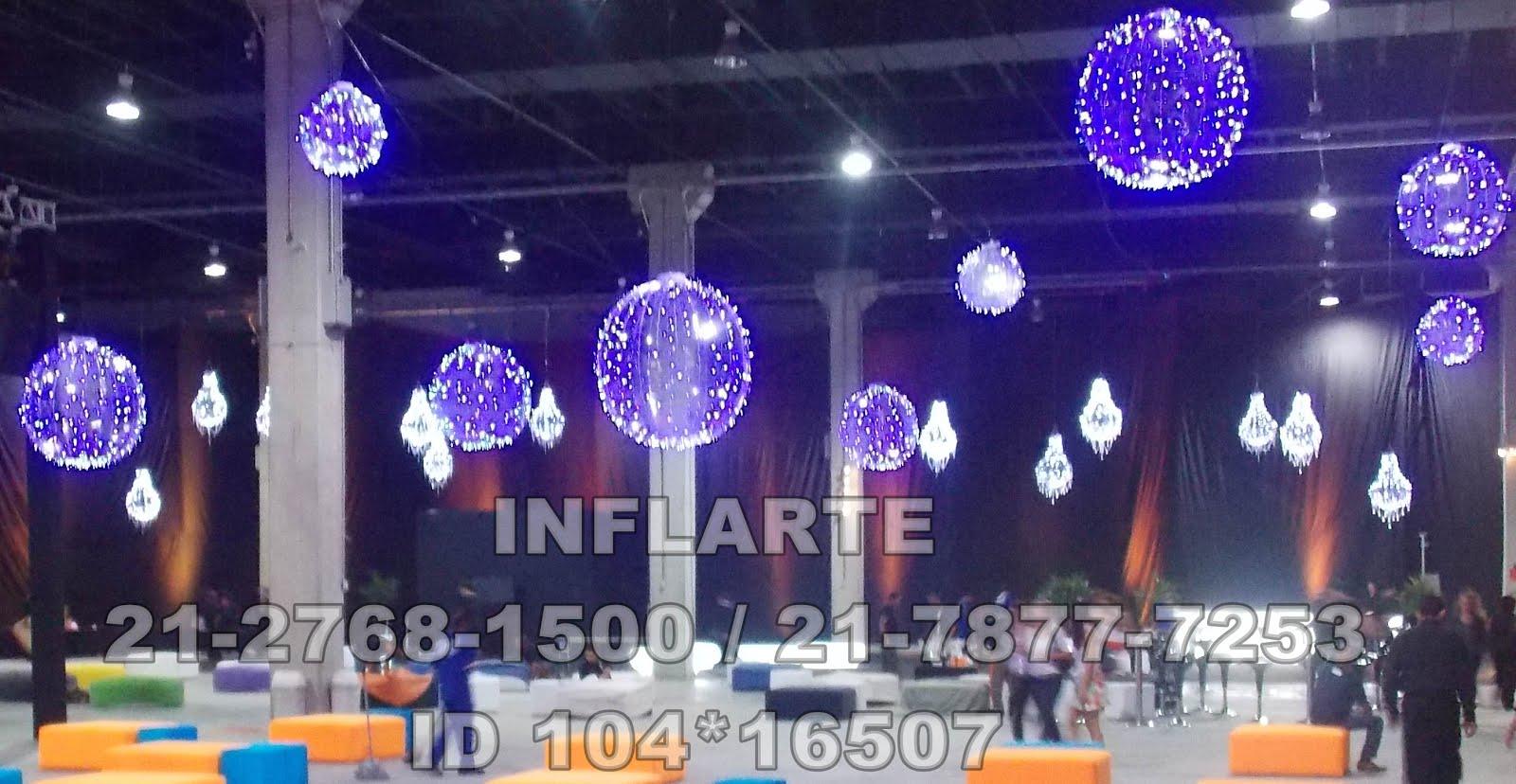 INFLARTE Inflaveis Decorativos Decoraç u00e3o de final de ano para eventos corporativos  -> Decoração Eventos Corporativos Curitiba