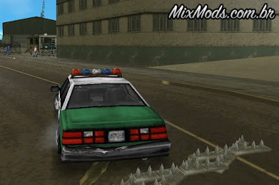 mod tapete de pregos gta vice city