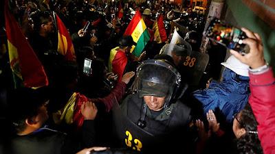 Bolivia: Policía se rebela contra el gobierno de Evo Morales