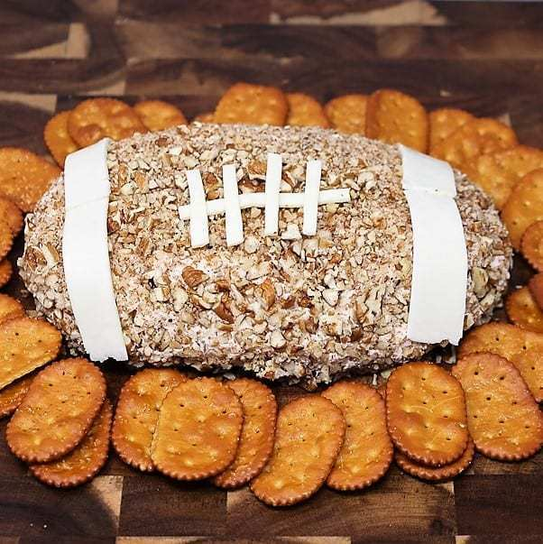 Football Chicken Cheese Ball