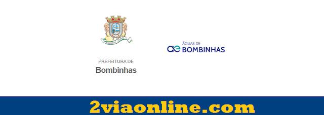 Águas de Bombinhas: confira como consultar fatura e gerar boleto