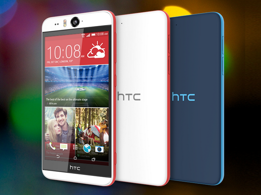 HTC Desire EYE, A 5-inch, Quadcore Smartphone with 13 MP Front Camera, is the New King of Selfie Phones?