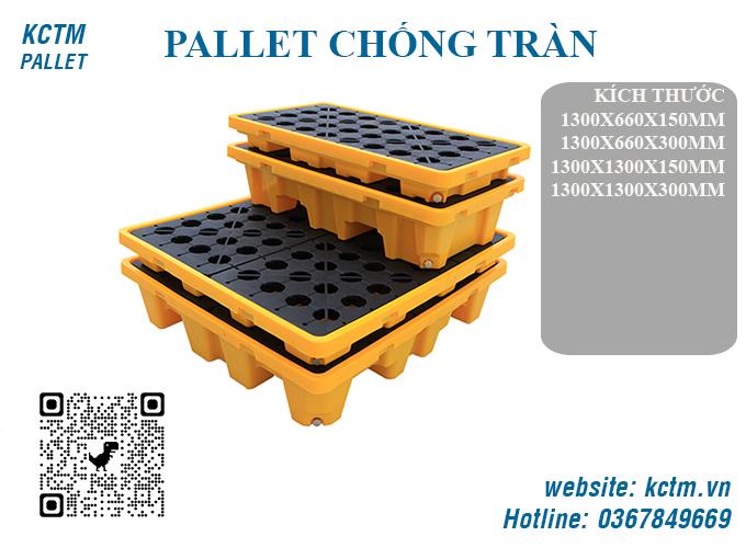 KCTM Pallet báo giá sỉ Pallet chống tràn