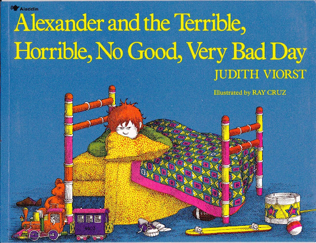 alexander and the terrible, horrible, no good, very bad day book parody
