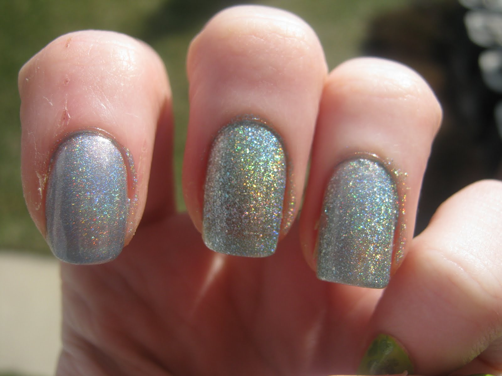 Holo Polish O P I Ds Vs China Glaze Kaleidoscope Bee
