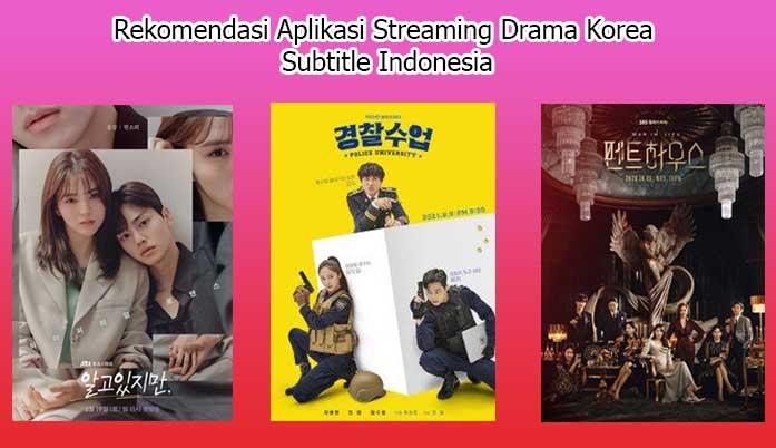 aplikasi streaming drama korea sub indo