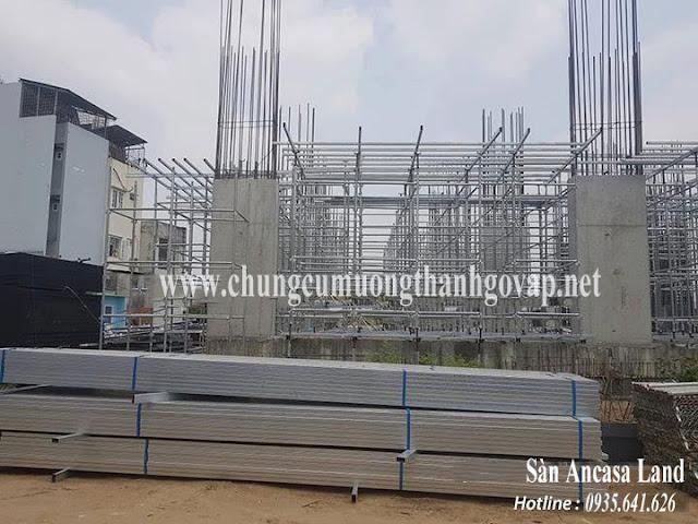 Tiến độ xây dựng Căn Hộ Mường Thanh Gò Vấp Sài Gòn Ngày 09/04/2019