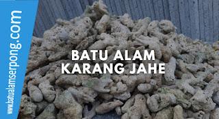 batu karang jahe