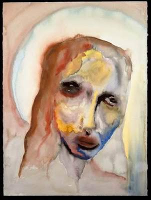 Statue of Limitations, pintura de Marilyn Manson.
