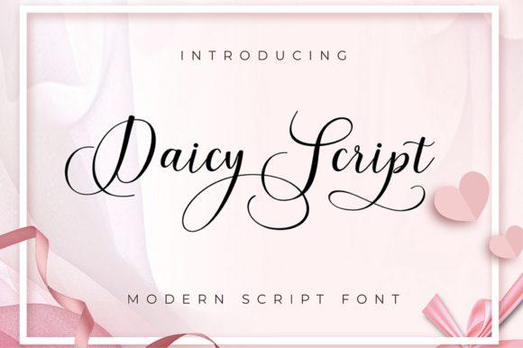 Daicy Script Font
