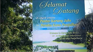 Fenomenal: Pesona Pantai Pasir Putih Karang Jahe Rembang