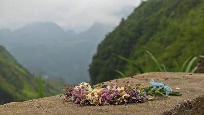 Ha Giang pęta motocyklowa Wietnam targ kwiatowy