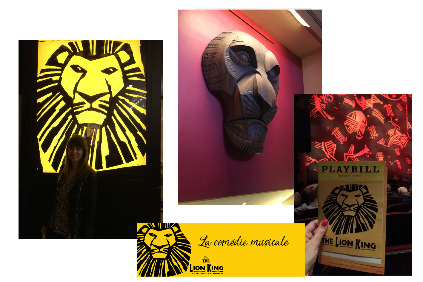 comedie musicale le roi lion New York Broadway