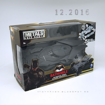 "osw.zone ""Batmobile!""   This was posted a part of my train from December 2016. ""Batman v Superman: Dawn of Justice"" 1:24 Scale Metal Die-Cast Batmobile"