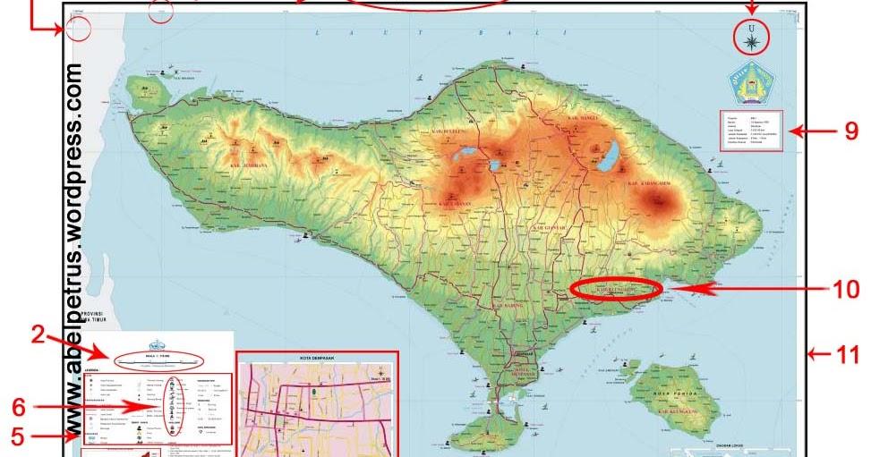 Dengan skala kita dapat memperbesar atau memperkecil sebuah gambar peta tertentu. Komponen Peta Studi Ilmu Sosial