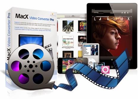 أحصل على MacX Video Converter Pro بقيمة 49.95 $ مجانا و العرض محدود