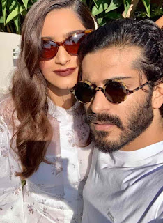 Sonam Kapoor With Her Brother
