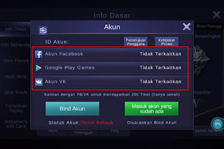 Cara Logout Akun Mobile Legends (ML/MLBB)
