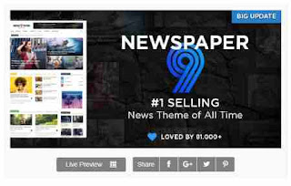 Download Theme Wordpress Newspaper 9.8 News Theme