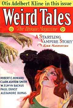 Portada Weird Tales, la mítica revista pulp